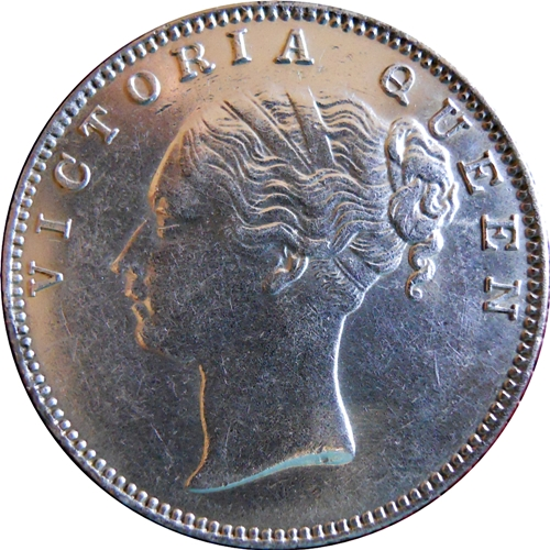 1840 1 One Rupee Queen Victoria