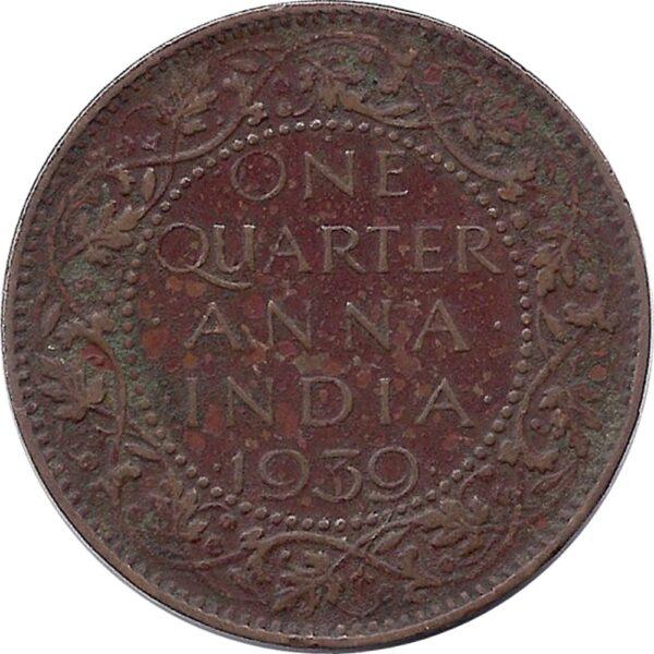 1939-one-quarter-anna-george-vi-king-emperor-bombay-mint