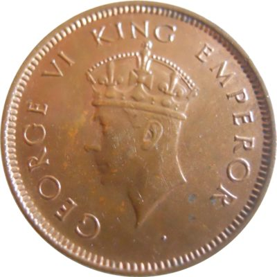 1939 1/4 One Quarter Anna George VI King & Emperor Bombay Mint - Worth Buy