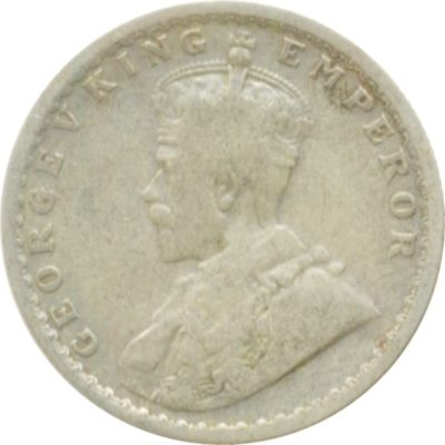 1913 1/2 Half Rupee Silver Coin King George V Calcutta Mint Rare Coin - Best Buy