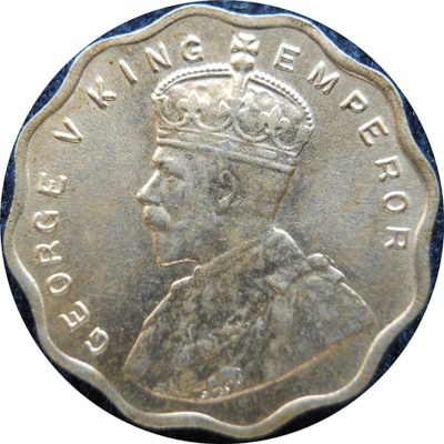 1936 1 One Anna Coin King George V Bombay Mint - Best Buy