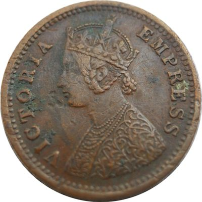 1887 1/12 One Twelve Anna British India Queen Victoria Empress - Best Buy