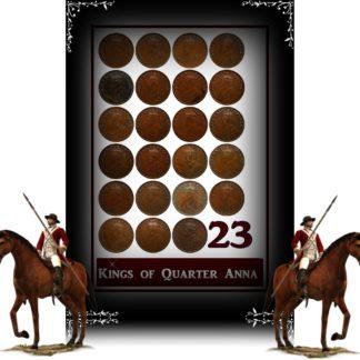 RARE Set of 1/4 Anna King George V 1912 to 1936 Calcutta & Bombay Mint
