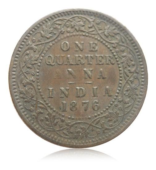 1876 1/4 Quarter Anna Queen Victoria - Best Buy