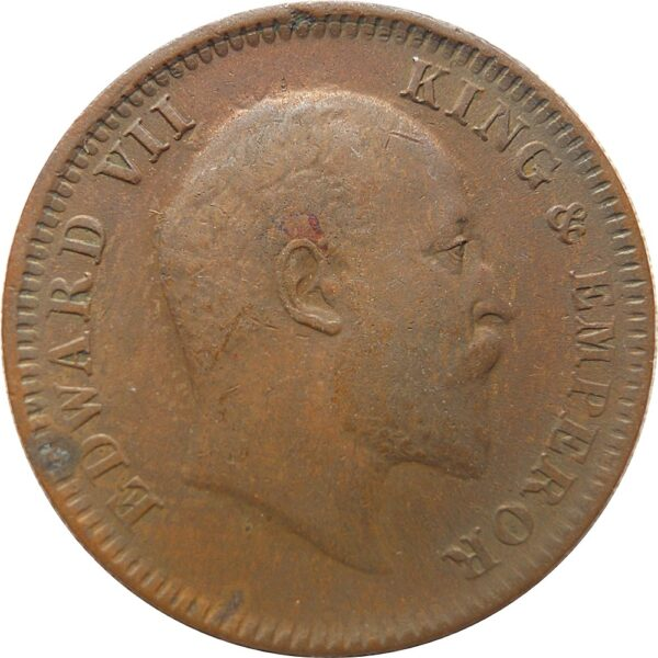1906 1/4 Quarter Anna King Edward VII Calcutta Mint - Best Buy