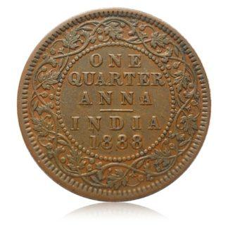 1888 1/4 Quarter Anna Queen Victoria Empress - Best Buy