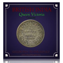 1890 1/4 Quarter Rupee Silver Coin Queen Victoria Empress - RARE COIN - Best Buy