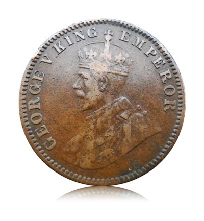 1916 1/4 anna British India King George V Rare Min1916 1/4 anna British India King George V Rare Mint - # Worth K1916 1/4 anna British India King George V Rare Mint - # Worth Keepingeepingt - # Worth Keeping