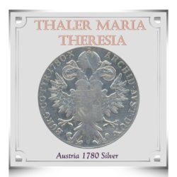 1780 1 Queen Thaler Maria Theresia Austria - Trade Coinage Silver Coin