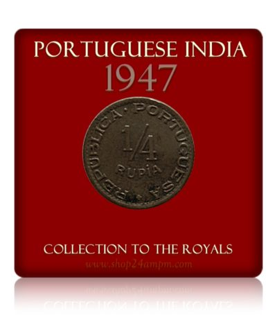 Portuguese-India 1/4 Quarter Rupia Coin (Goa) Worth Collecting