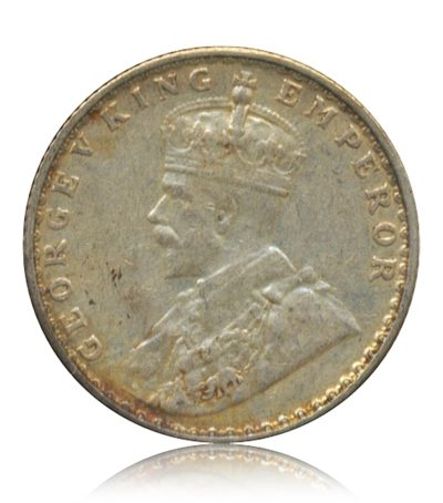 British India 1936  1/4 Rupee George V King Emperor Bombay Mint – Best Buy