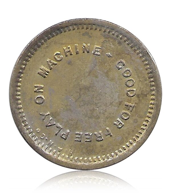 OLD PLAY TOKEN COIN   #7