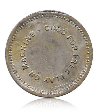 OLD PLAY TOKEN COIN #7