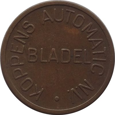 Kopens Automatic NV Bladel - Netherlands Token Coin