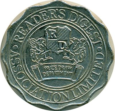 Reader's Digest Token Coin - Best Buy