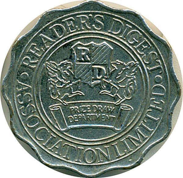 Reader's Digest Token Coin - Best Buy