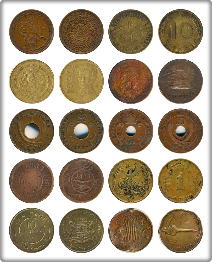 International Coin Set - 10 coins - Best Buy at its Original
