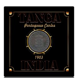 Tanga India - Portuguese Carlos MCMIII 1903 1/12 Tanga - Worth