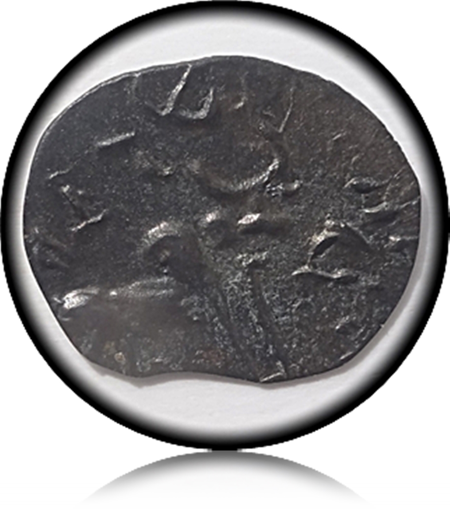 Rare South Indian Coin - Banavasi Potin Coin