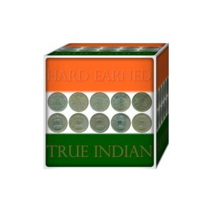 1977 1978 1979 1980 1981 1 Rupee Coin Republic India Bombay Mint - 5 Coins