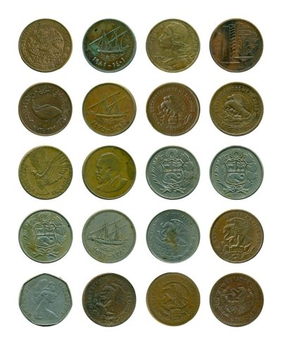 Mixed International Coin Set – 20 coins