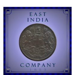 1853  1/2 Half Pice East India Company - Worth Collecting