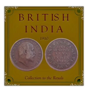 1910 1/4 Quarter Anna British India King Edward VII Calcutta Mint - Best Buy
