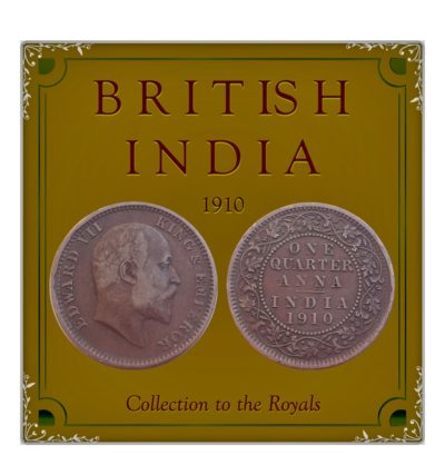 1910 1/4 Quarter Anna British India King Edward VII Calcutta Mint - Best Buy