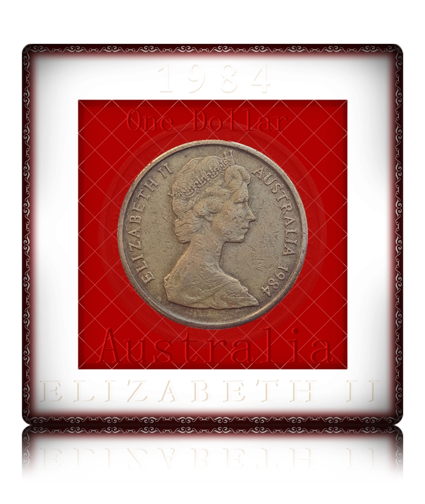 1984 1 Dollar Australia Queen Elizabeth II - Worth Collecting