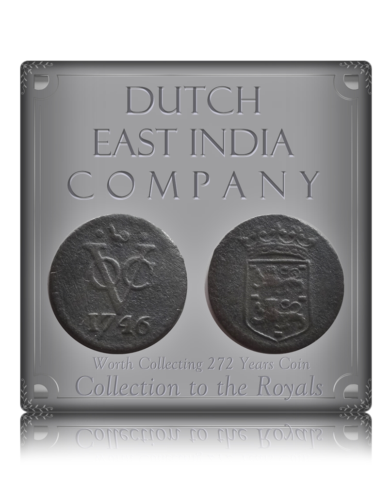 1746 Dutch East India Company - VOC Coin - Best Buy