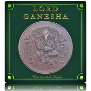 Lord Ganesha Old Copper Token Coin - Worth Collecting
