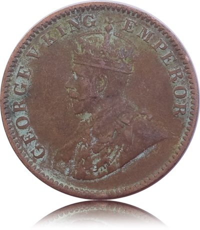 1935 1/4 Quarter Anna British India King George V Calcutta Mint - Best Buy