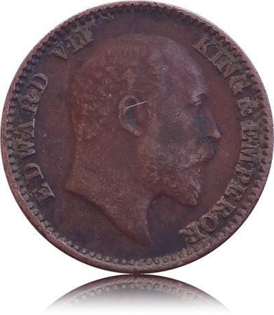 1905 1/12 Twelve Anna British India King Edward VII Calcutta Mint - Best Buy