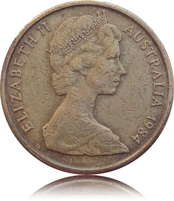 1984 1 Dollar Australia Queen Elizabeth II - Worth Collecting