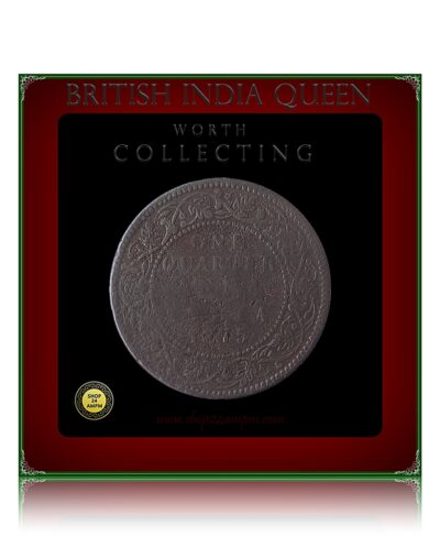 1875 1/4 Quarter Anna British India Queen Victoria - Best Buy