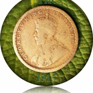1915 Half Rupee King George Br India - Hard to Get - Store it now