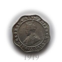 1919 4 Annas King George V Calcutta Mint - Worth Buy