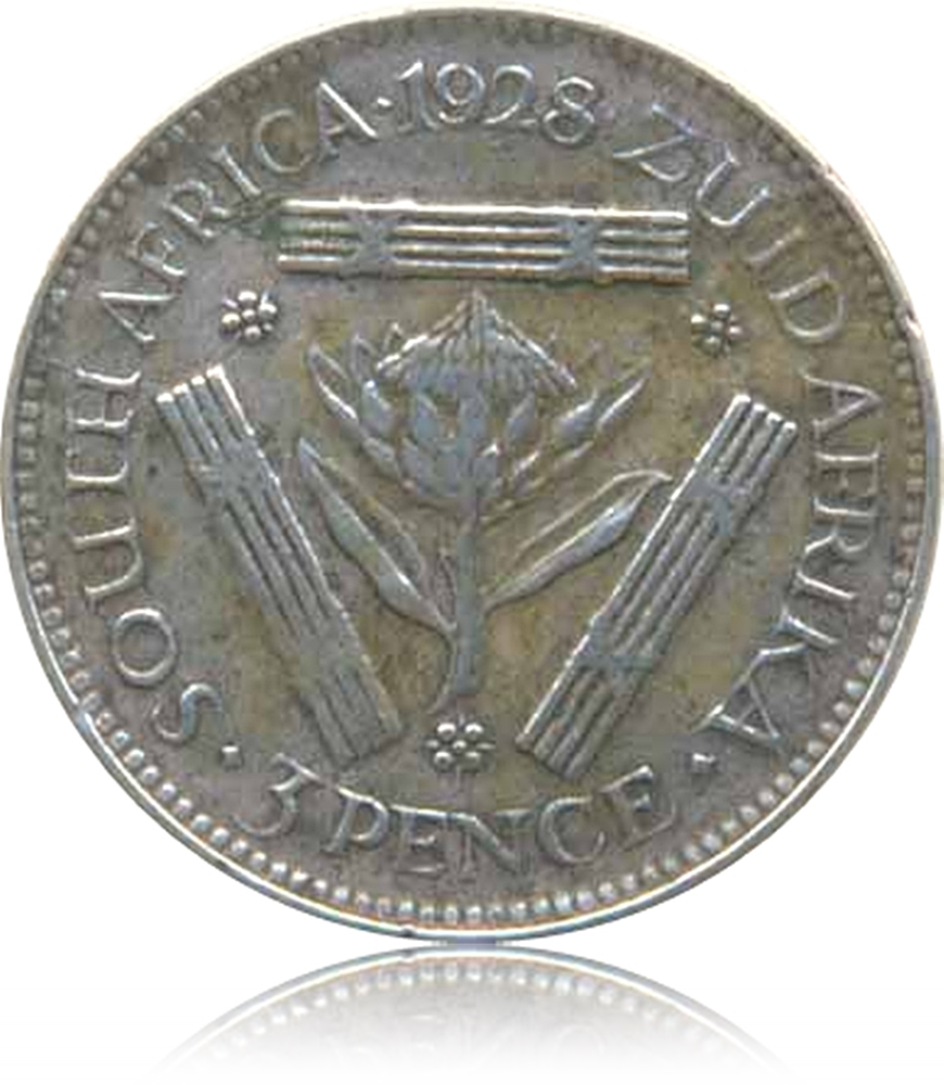 1928 3 Pence Coin Georgivs V Rex Imperator South Africa - Best Buy