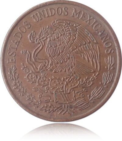 1974 Mexico 20 Centavos Copper Coin - Best Buy