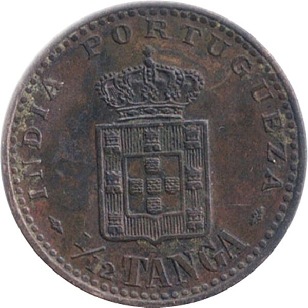 Tanga India - Portuguese Carlos 1903 1/12 Tanga - Worth Collecting - Best Buy
