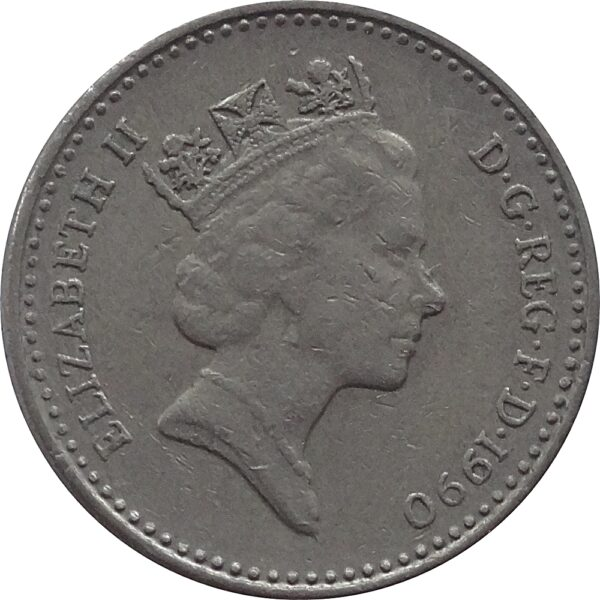 19905 Pence Coin Great Britain Elizabeth II - RARE