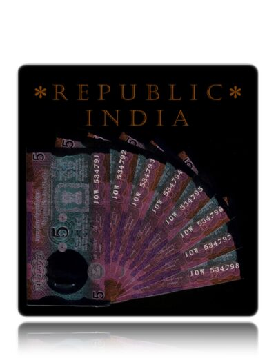 C 32 5 Rupee India Note Old UNC Notes Sig by Dr C Rangarajan Old Tractor Notes - Get 8 Notes