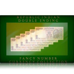 D 90 2011 UNC 10 Rupee UNC Notes Sig by Subbarao get 6 Notes
