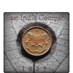 1835 1 / 12 East India Company Coin - 813th Year Class Coin
