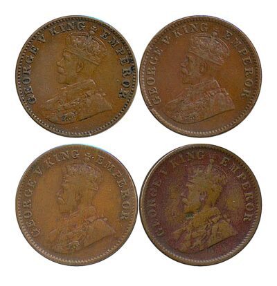 1936 1/4 Quarter Anna British India King George V - Best Buy