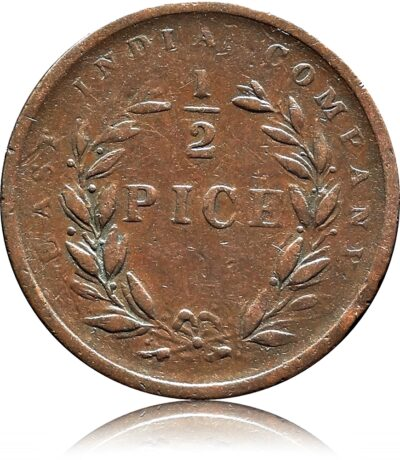 1853 1/2 Half Pice Coin East India Company - Best Buy
