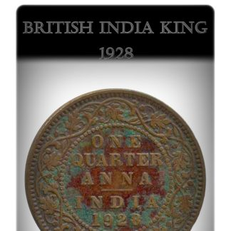 1928 1/4 Quarter Anna British India King George V Bombay Mint - Best Buy
