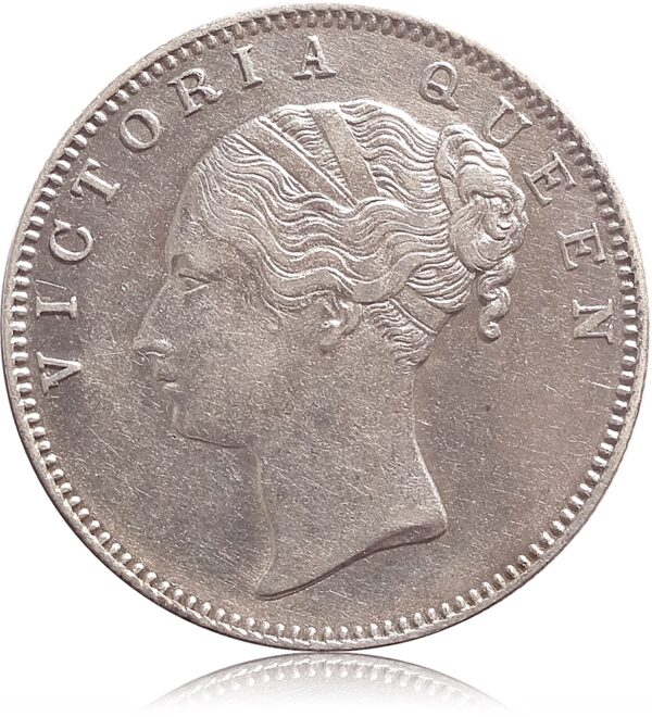 1840 Continuous Legend 1 Rupee Silver Coin British India Queen Victoria - Best Buy