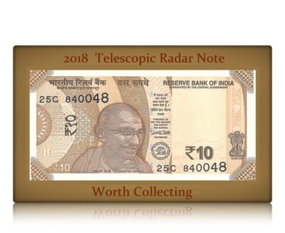 2018 New UNC 10 Rupee note Radar Telescope -sig Urjit patel- Best Buy