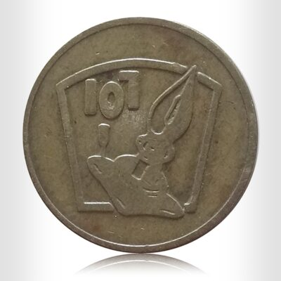 107 Bugs Bunny World Token Coin